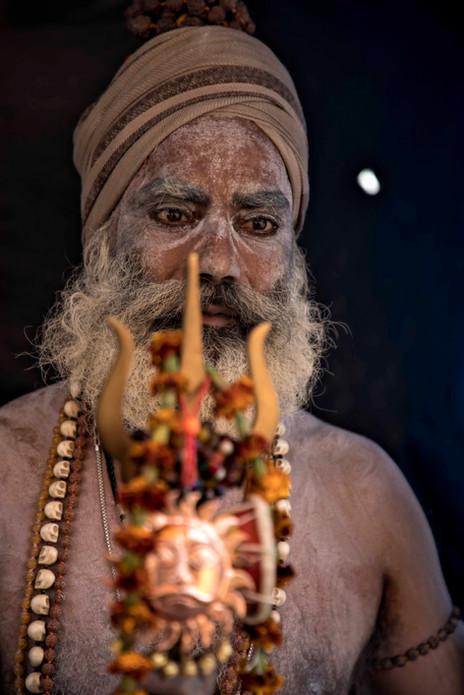 Naga Baba's Triedent