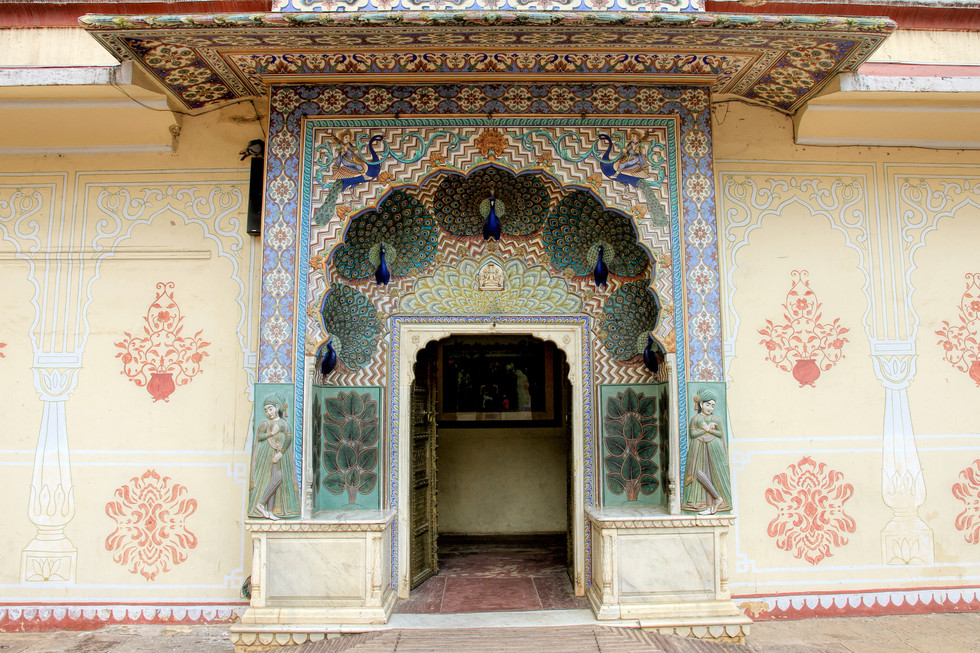 Peacock Door- City Palace, Jaipur