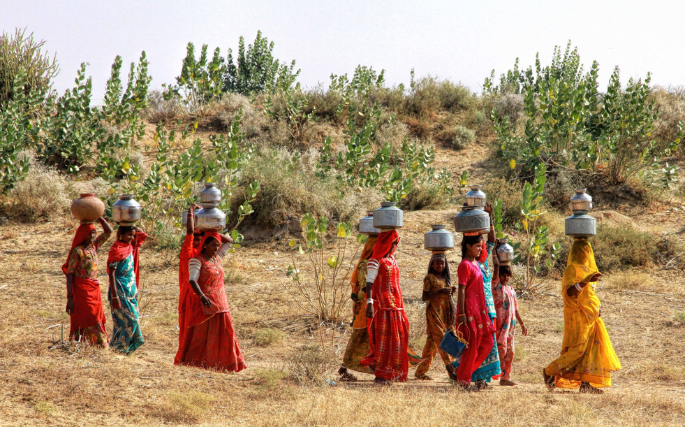 Women of Thar and water woes