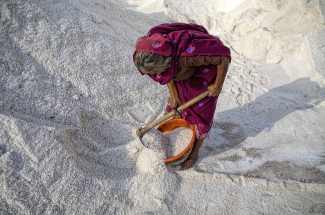 The cost of salt