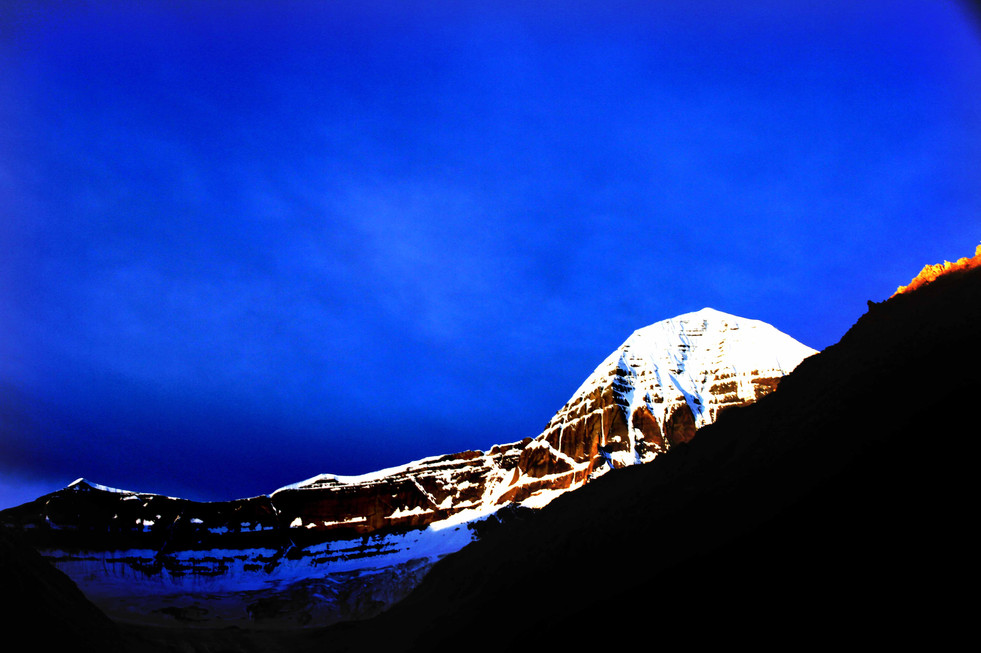 Sunrise - Mount Kailash