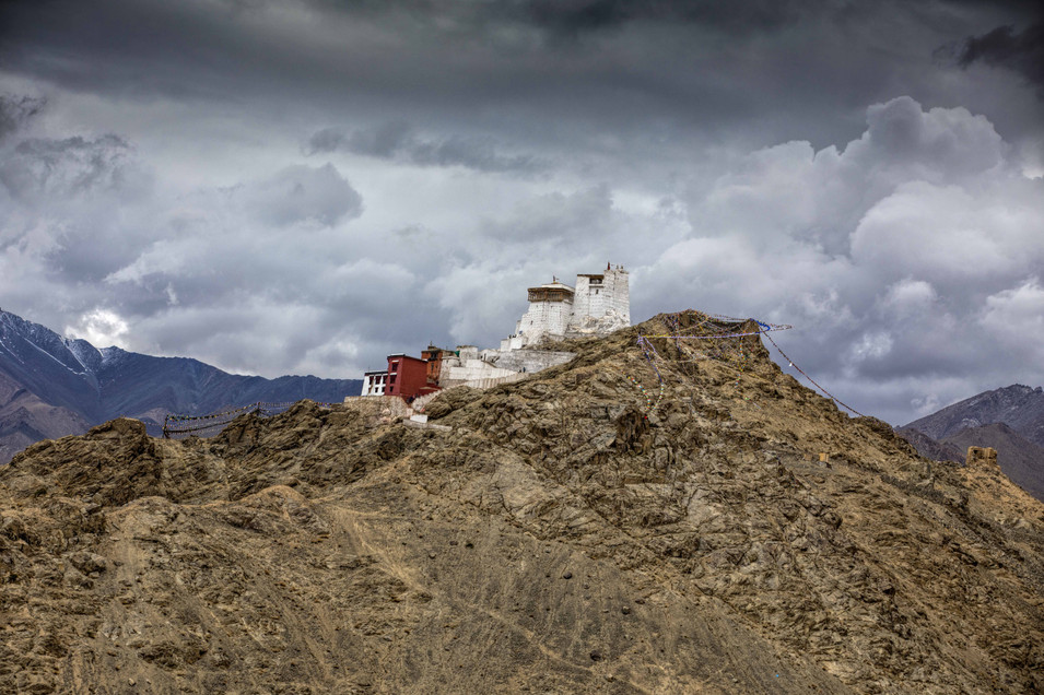 The Namgal Tsemo Monastery