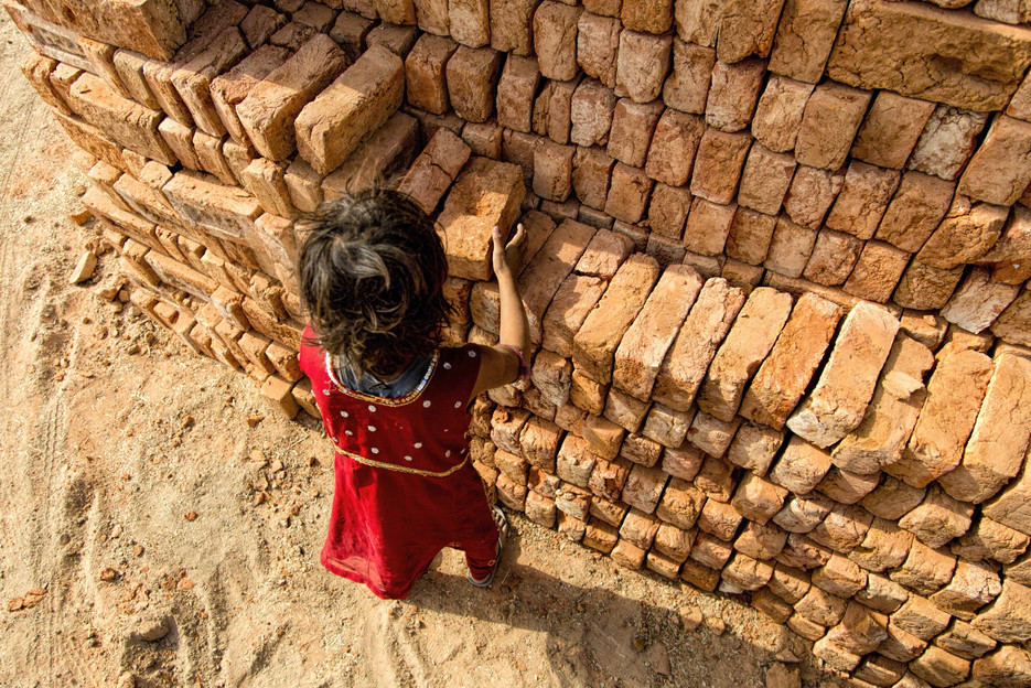 Children of the brick kiln