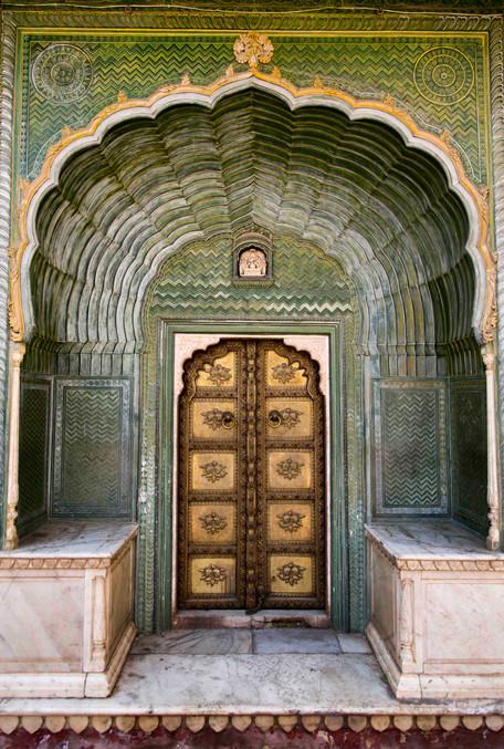 Leharia Gate - City Palace Jaipur