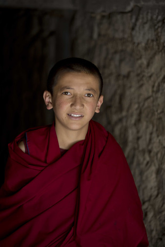 The classrooms and the schools are well equipped and the monks recieve education besides learning about Buddhism