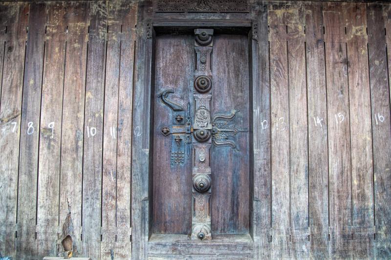 Door of a shop in Mattencherry kerala