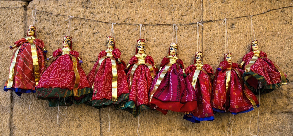Puppets in Tandem- Jaipur