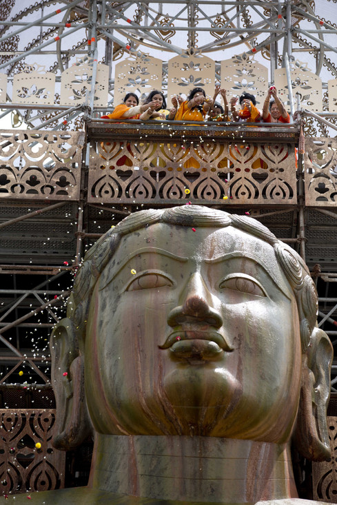 Shravanabelagola forehead