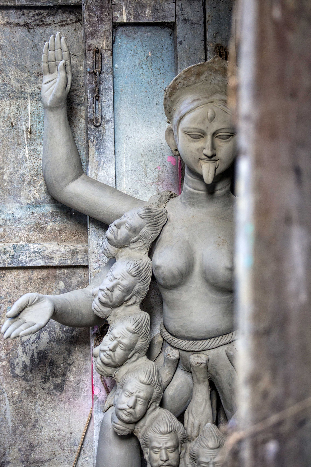 Making of idols at Kumartuli