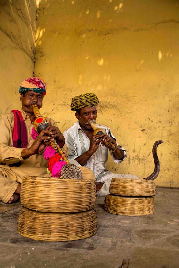 Snake charmers