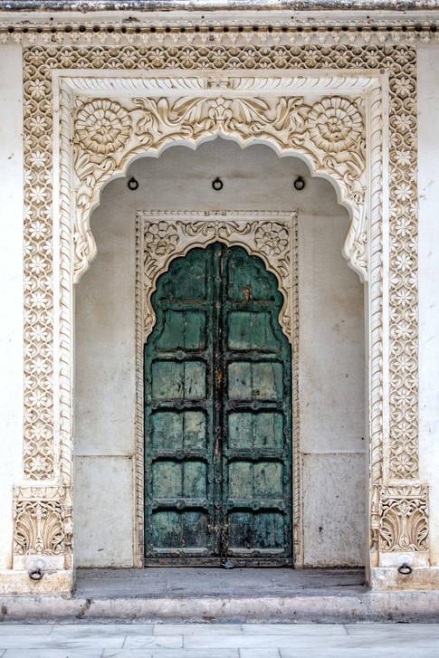 Door at the Zenana Deodi harem in Mehrangarh fort