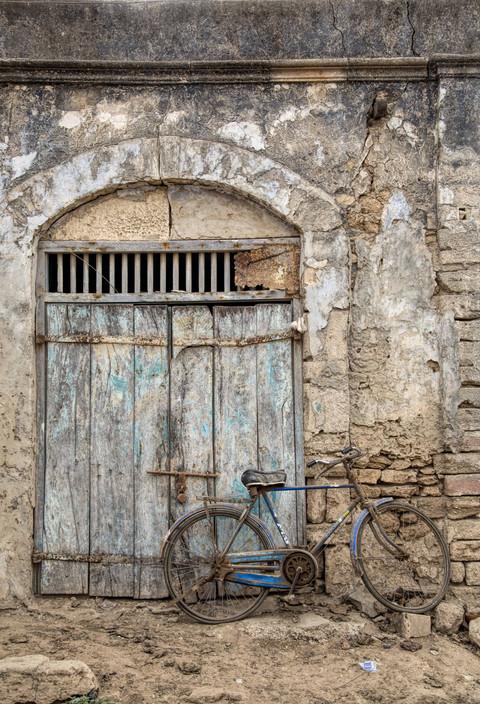 A closed door and many secrets