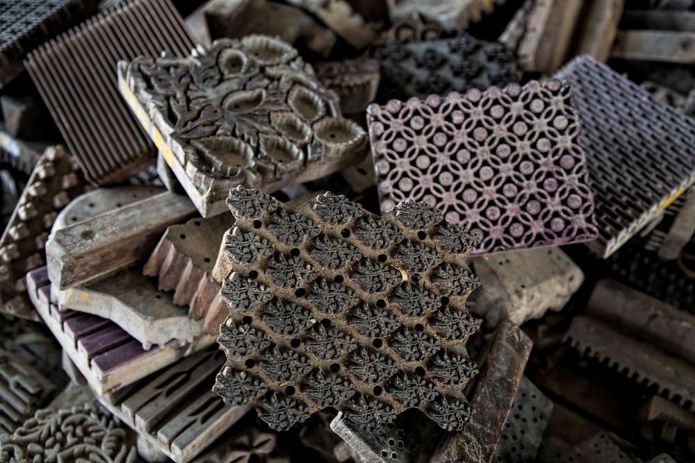 Blocks for Dabu printing