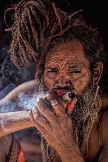 Naga Sadhus and cannabis
