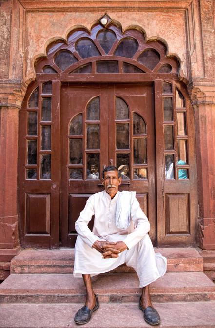 Doors in Agra fort