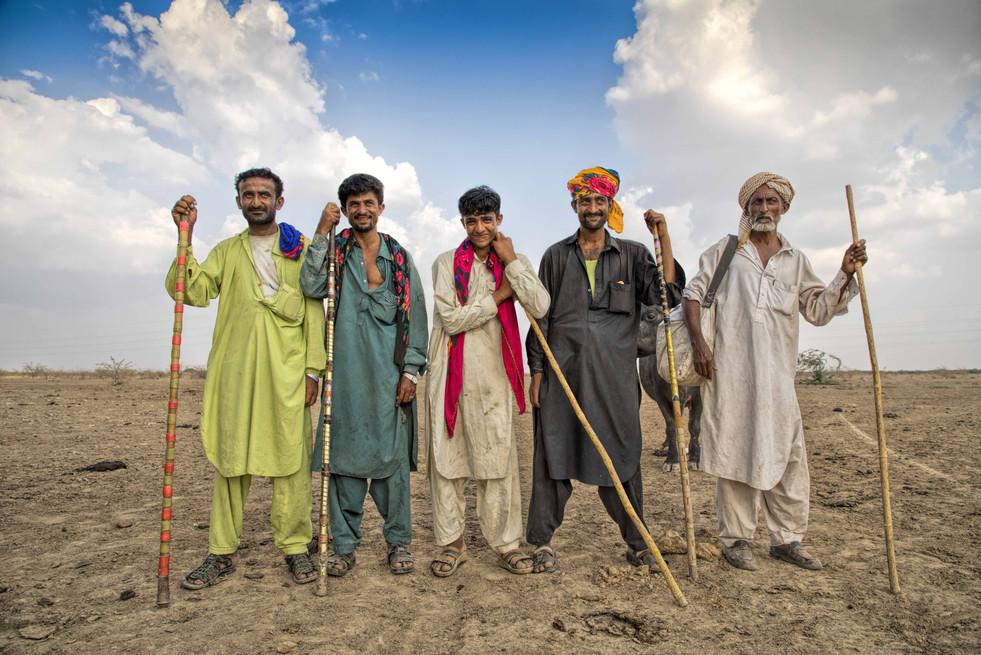 Men of Dhaneta Jat tribe