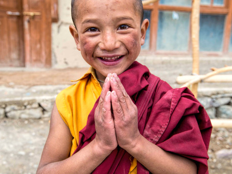 Young Buddhist Monks of Ladakh