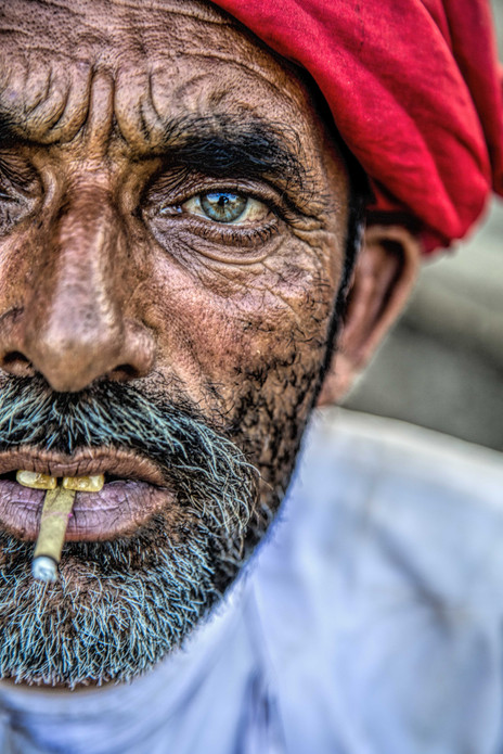 A rabari nomad