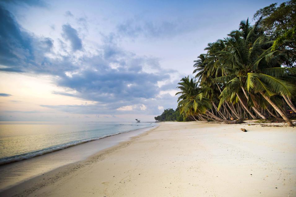 Water meets land & Sand, Havelock Island , Andaman