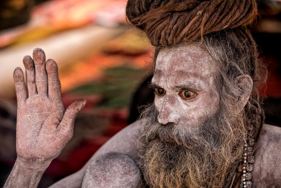 Naga Sadhus and stoned eyes