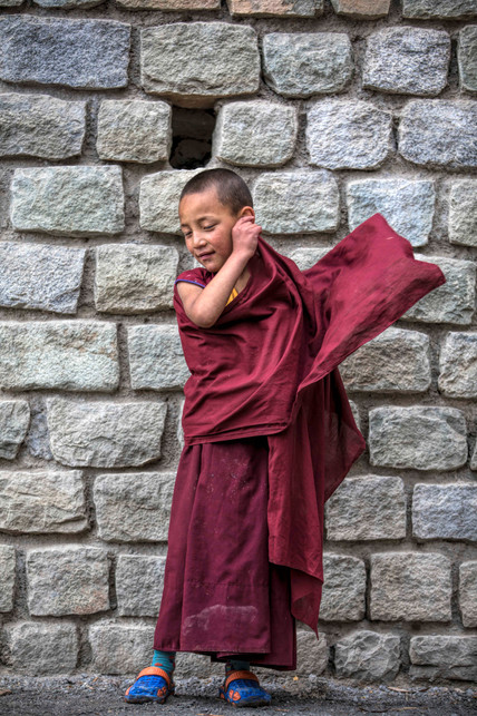 The three-part robe is an attire they adorn when they first enter the school