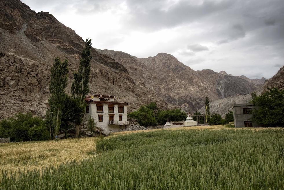 Brokpas house in Himalayas