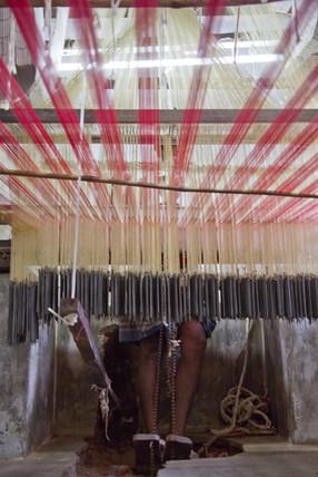 Weavers of Kanchipuram