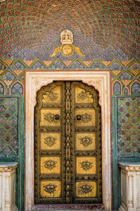 The Rose Gate - City palace Jaipur