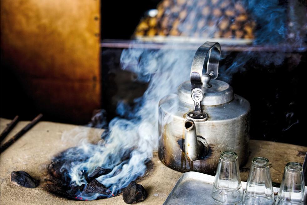 Charcoal and tea - Orissa
