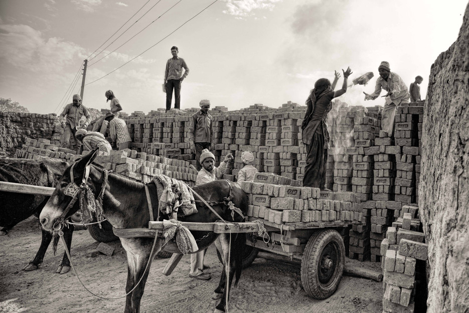 Brick kiln workers india