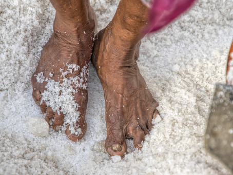 Life of Jena Ben - the Salt pan worker