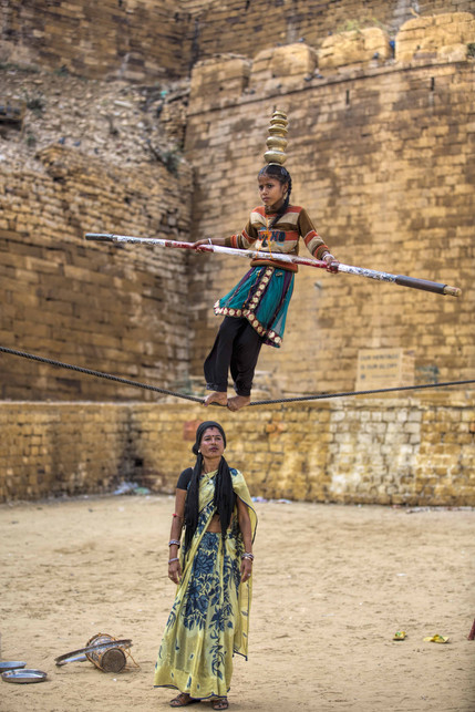 Walking a tight rope