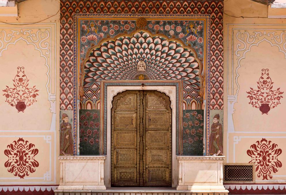 Lotus Gate : City Palace Jaipur