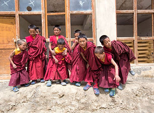 Child Monks of Ladakh