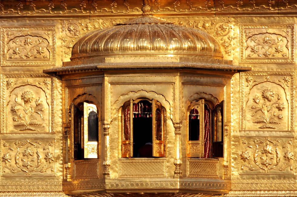 Golden temple architecture