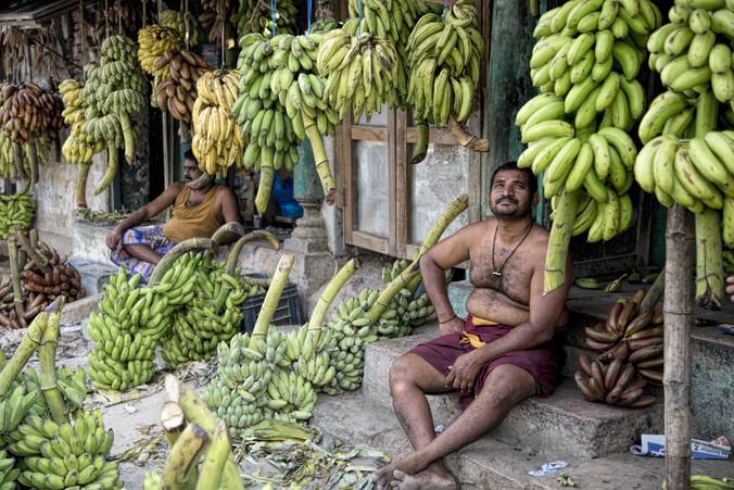 Banana Sellers of Madurai