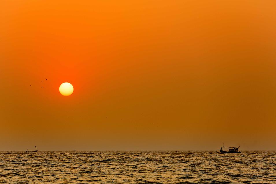 Tangerine skies- Goa