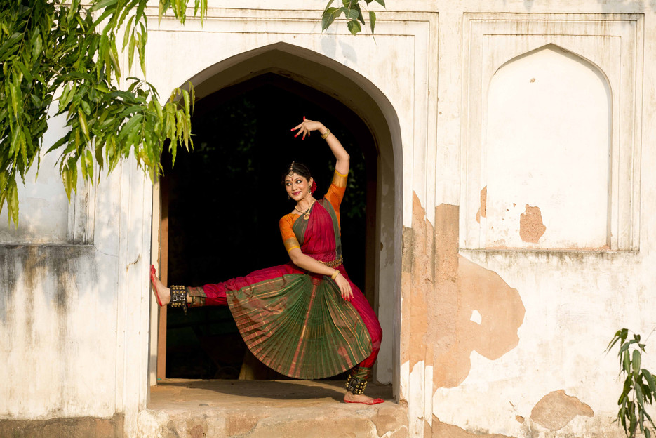 Bharatnatyam dance of India