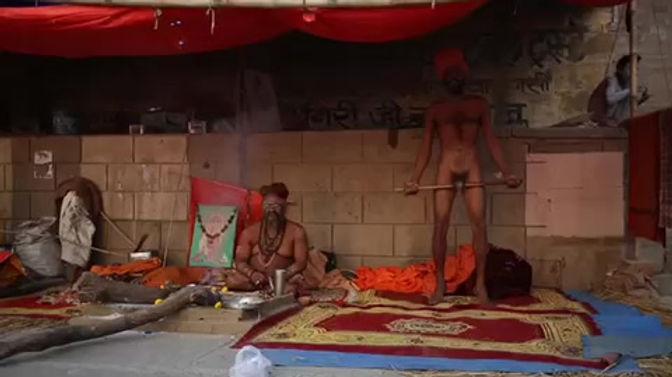 Naga Sadhus Naked bodies