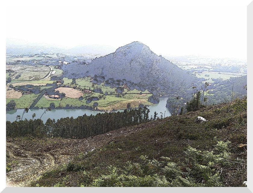 Vista desde carretera Peña Cabarga