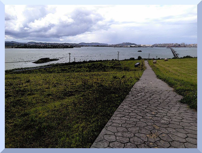 Camino marítimo Pedreña - Santander.