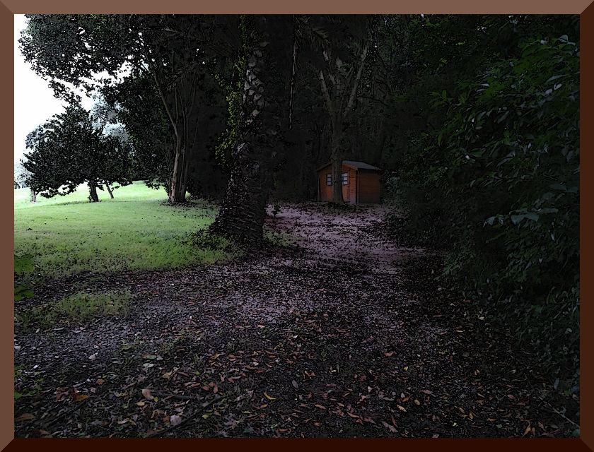 Jardín. Casa San Ignacio. Pedreña.
