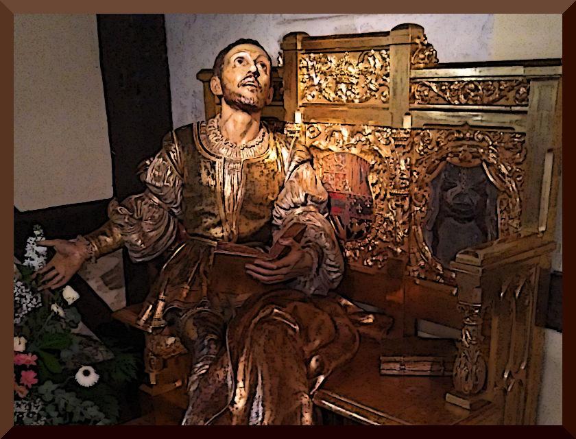 Conversión de Ignacio. Casa natal, Loyola.