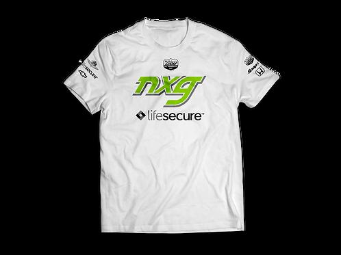 NXG Indy Team T-Shirts | White