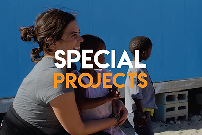 Special volunteer projects