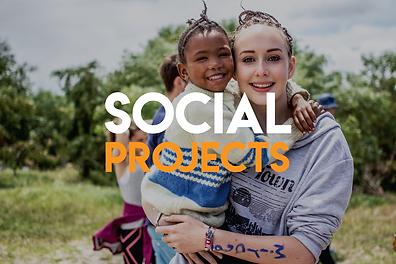 Social volunteer projects