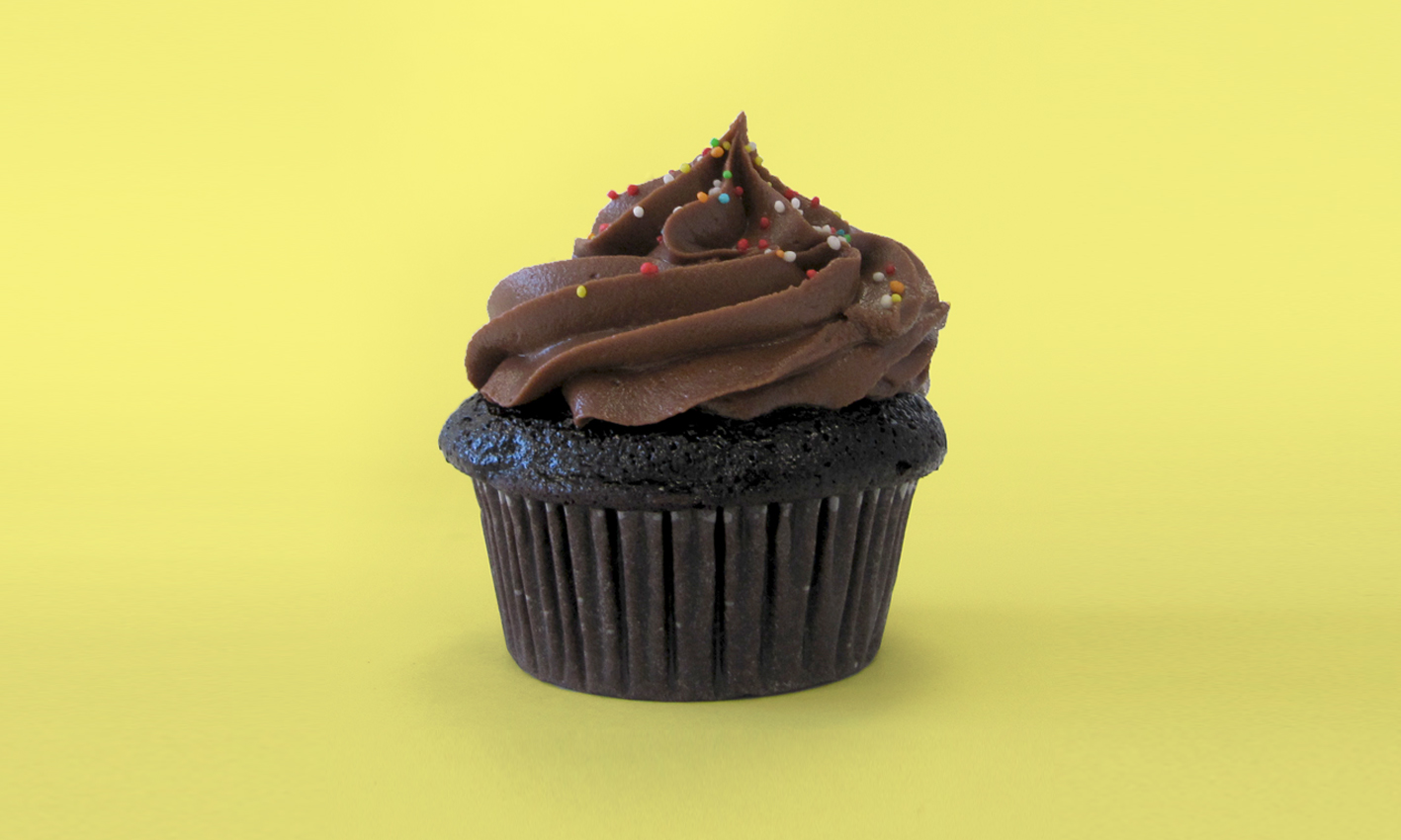 Chocolate Cupcake Yellow