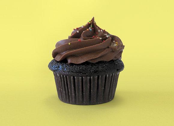 Mini Chocolate cupcake 12 pcs
