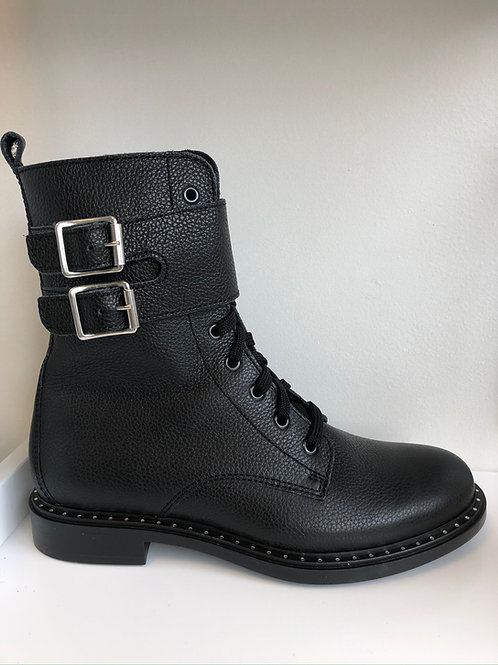 Richter Biker Boot (black leather)