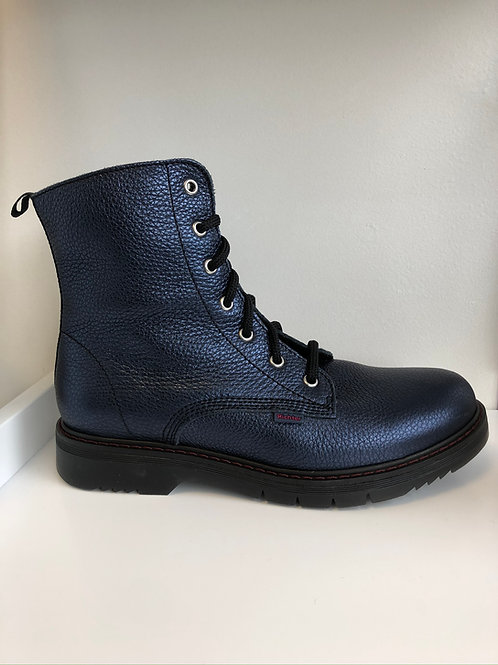 Richter Chunky Boot (blue leather)